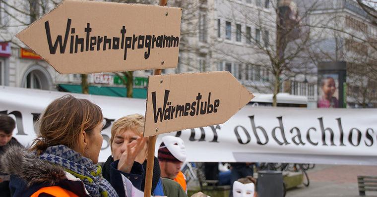 Wohnungsnotfälle Hamburg